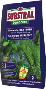 SUBSTRAL Osmocote Ziemia do jukk i palm 5L